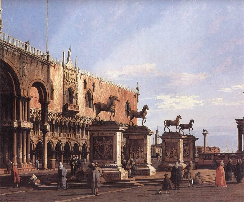 I Cavalli di Piazza San Marco - de Il Canaletto